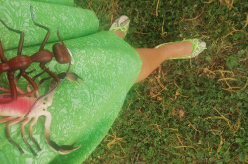 Jack e Gertrude su gonna verde